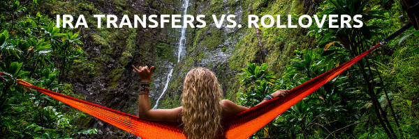 Girl in Hammock- IRA Transfers v rollovers