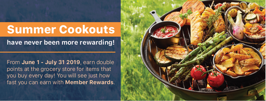 Double Member Rewards Points