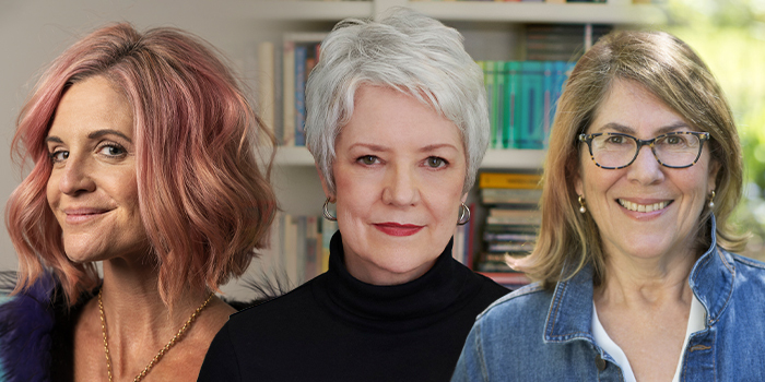 Glennon Doyle, Sue Monk Kidd and Elizabeth Lesser
