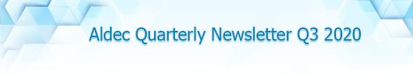 2020 Q3 Newsletter Aldec