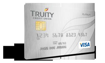 Truity Platinum Rewards Credit Card